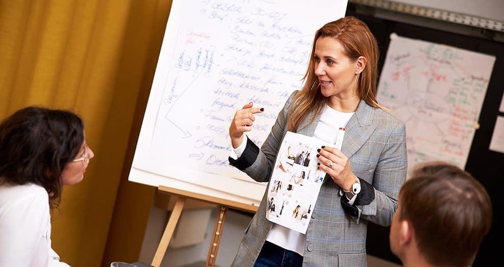 E-Commerce Expertin Kathrin Witt beim Workshop Mode Online Marketing